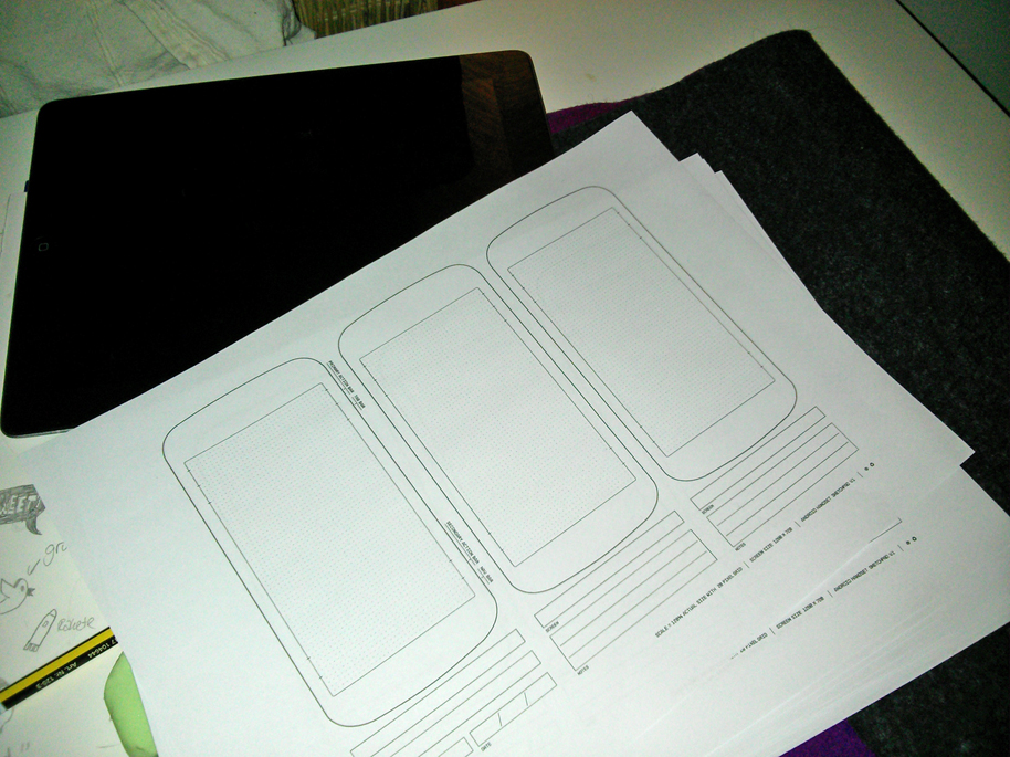 Sketchpads for Android